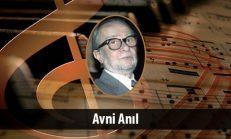 Avni Anıl (1928-2008)