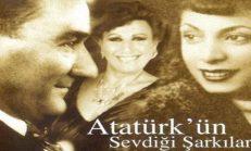 Atatürk'ün Sevdiği Şarkılar, Türküler Notaları